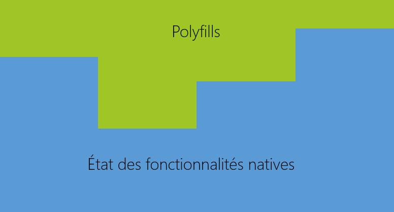 représentation polyfills