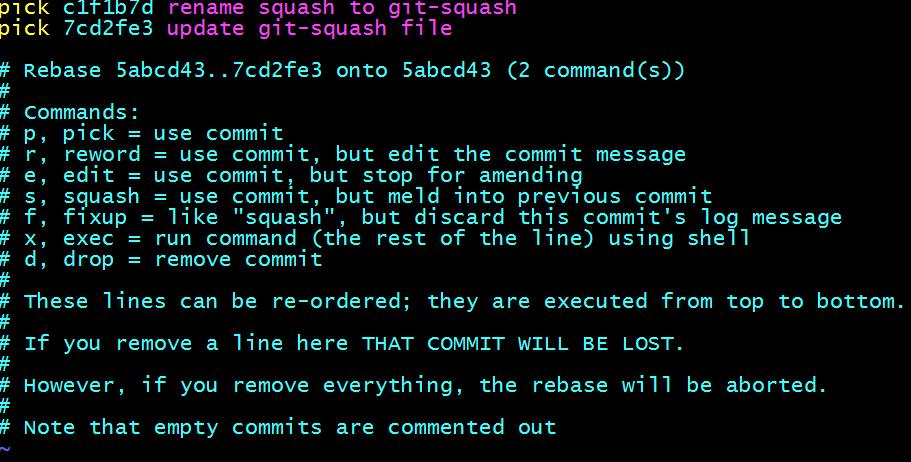 git-squash-rebase